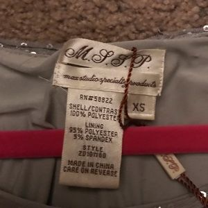 Dresses - MSSP XS Silver Sequin 1920's Flapper Dress